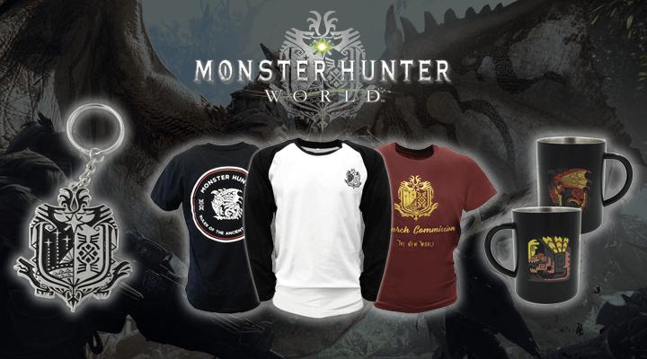 Official Monster Hunter Merchandise