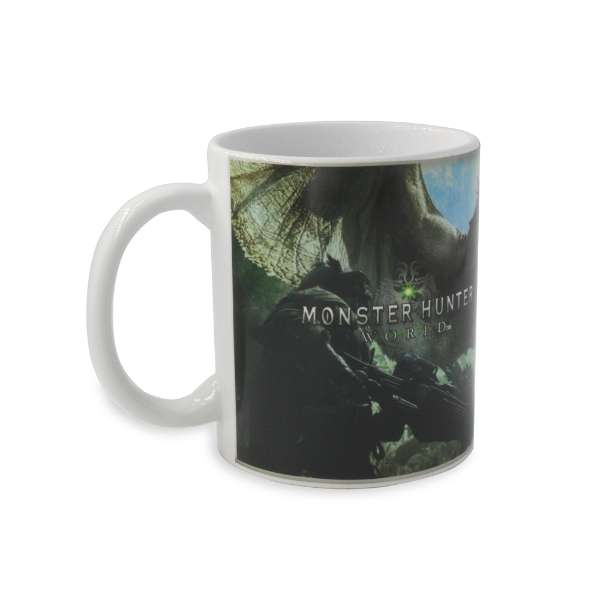 Monster Hunter Logo Heat Changing Mug