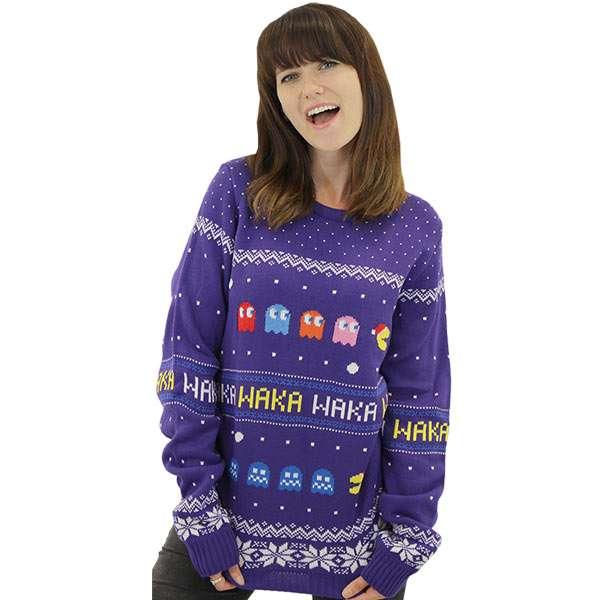 Pac-Man Christmas Jumper / Sweater