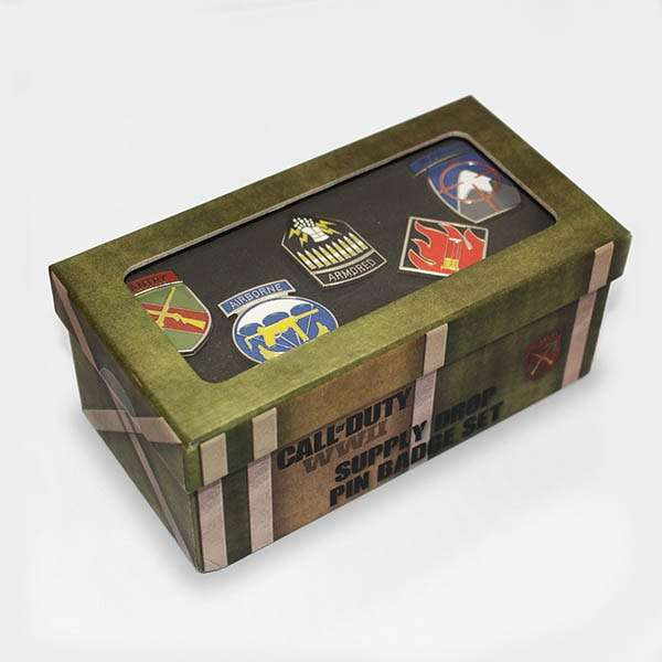 Call of Duty WW2 Supply Drop Pin Badge Set