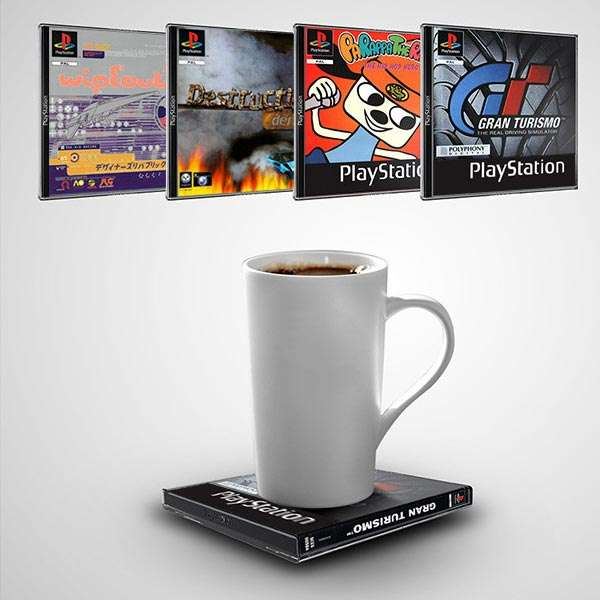 Image result for PLAYSTATION OFFICIALLY GAME COASTER