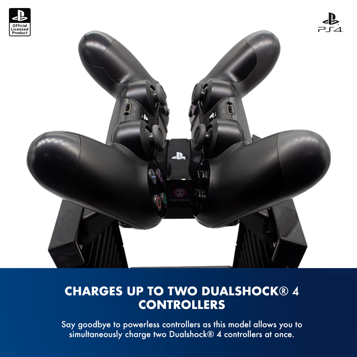 Official Sony PlayStation 4 / PS4 Games Tower & Dual Charger