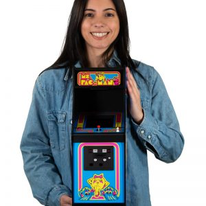 Ms Pac-Man Quarter Scale Arcade Cabinet