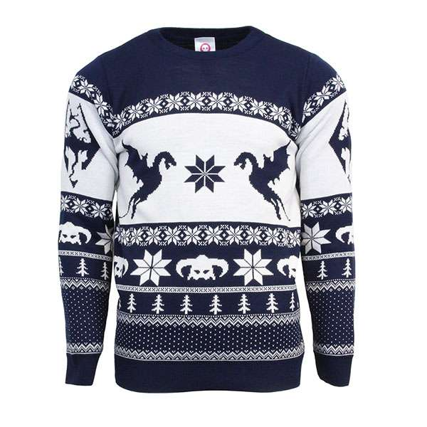 Skyrim Christmas Jumper / Sweater