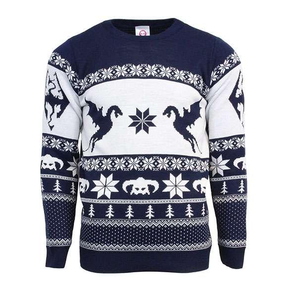 Skyrim Christmas Jumper / Sweater
