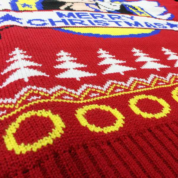 Classic Sonic Christmas Jumper / Ugly Sweater