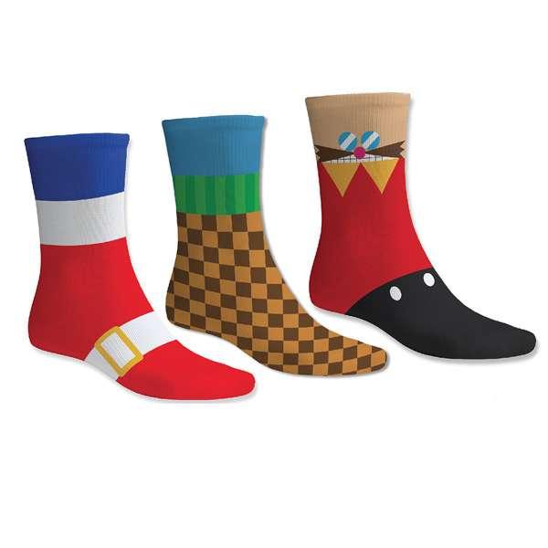 Sonic the Hedgehog Socks