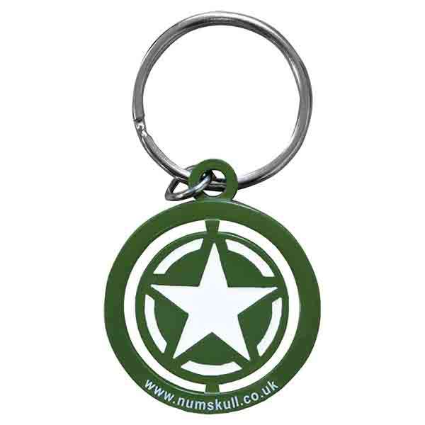 Call of Duty WW2 Star Spinner Keyring / Keychain