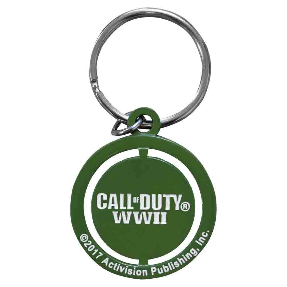 Call of Duty WW2 Star Spinner Keychain / Keyring
