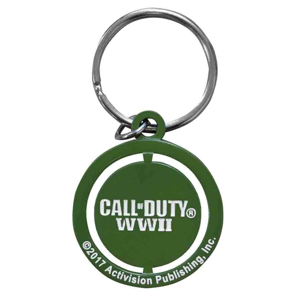 Call of Duty WW2 Star Spinner Keychain / Keyring