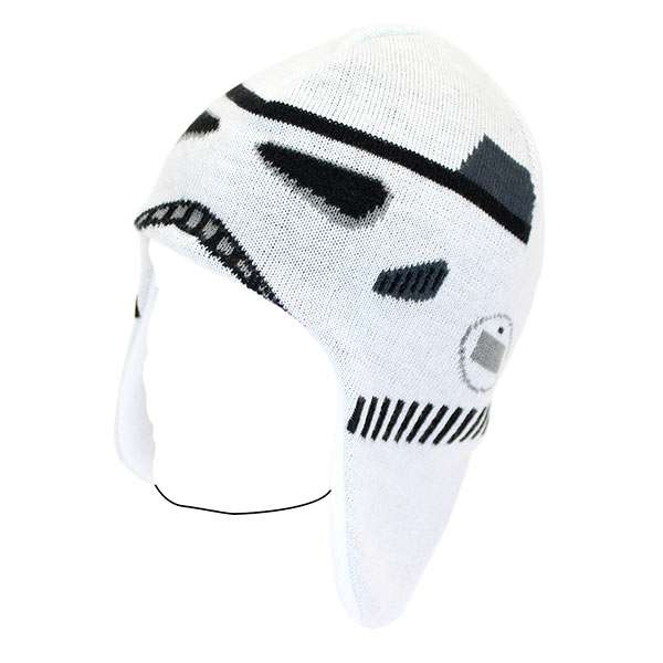 Storm Trooper Knitted Hat