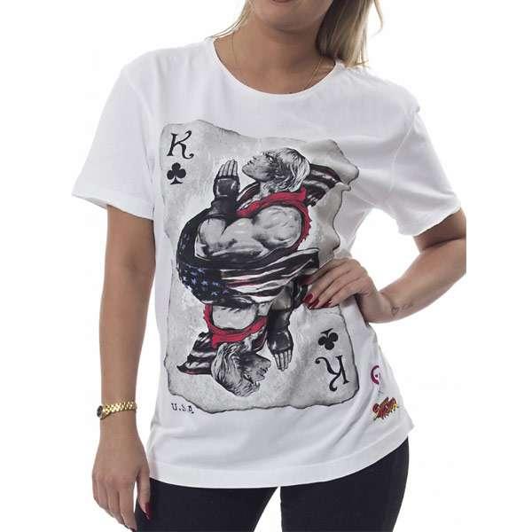 Street Fighter Ken of Clubs T-Shirt