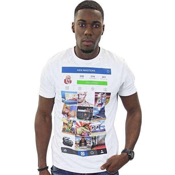 Street Fighter Kenstagram T-Shirt