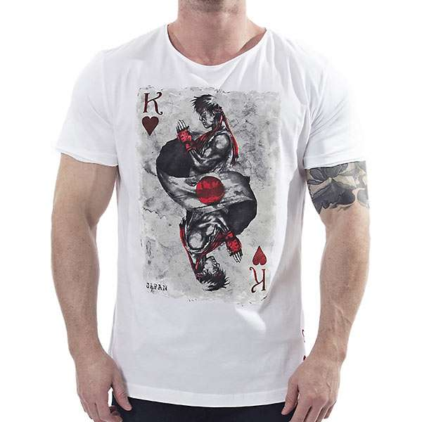 home street fighter street fighter ryu of hearts t shirt. Black Bedroom Furniture Sets. Home Design Ideas