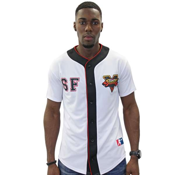Street Fighter Baseball Shirt