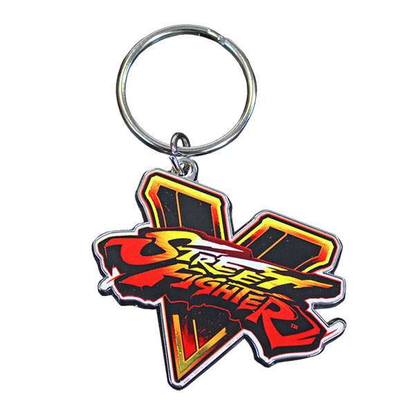 Street Fighter V Emblem KeyChain