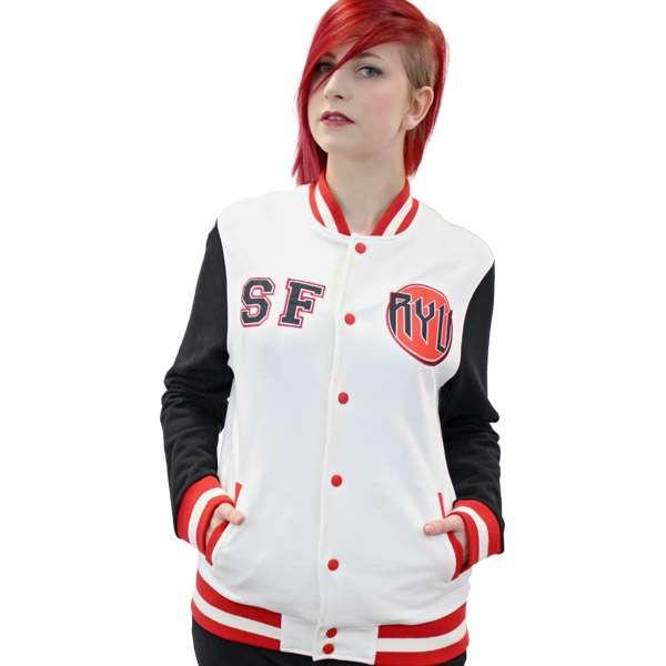 Street Fighter Varsity Jacket