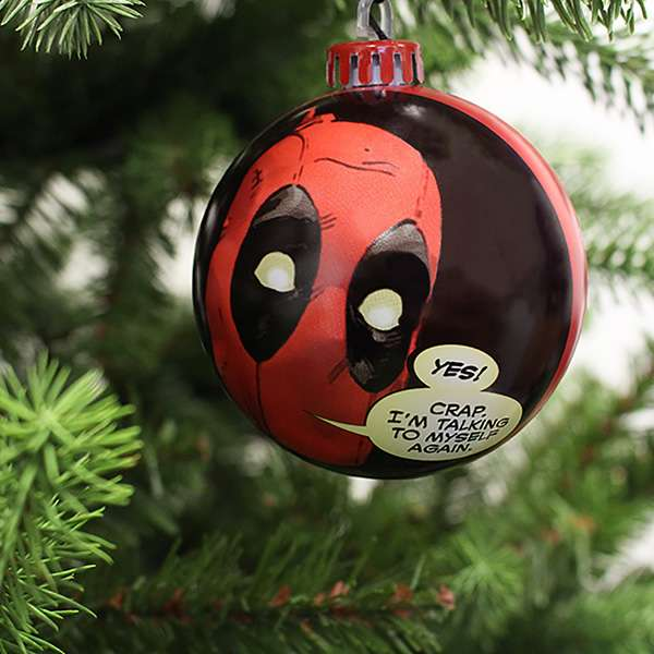 Deadpool Bauble / Christmas Tree Ornament Pack Photo