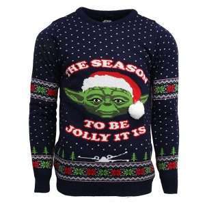 Star Wars Master Yoda Christmas Jumper / Ugly Sweater