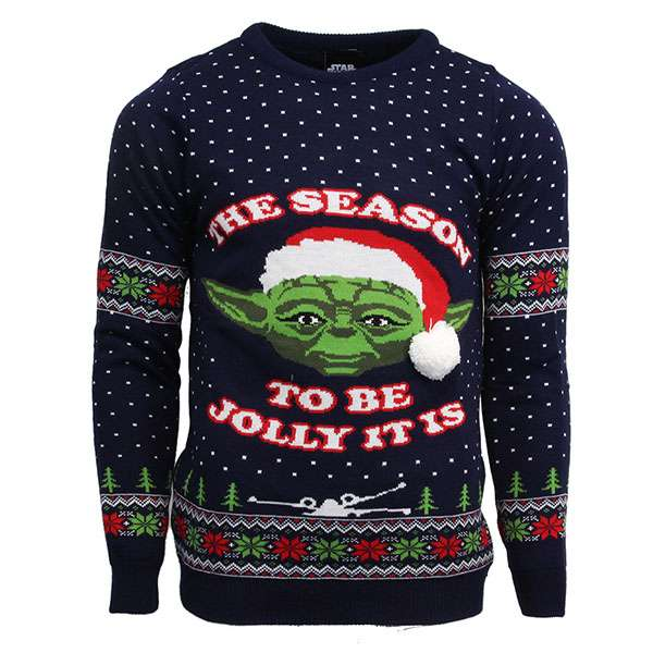 Master Yoda Christmas Jumper / Sweater